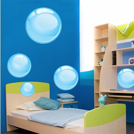 Kit stickers bulles pas cher - Stickers bulles d eau ...