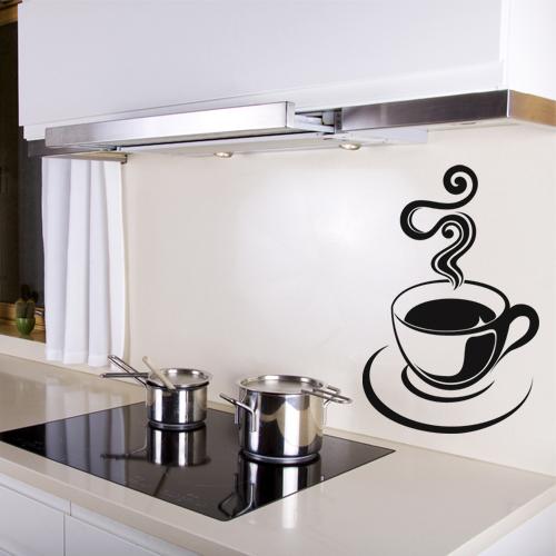 Sticker tasse a caf pas cher - Pegatinas para cocinas ...