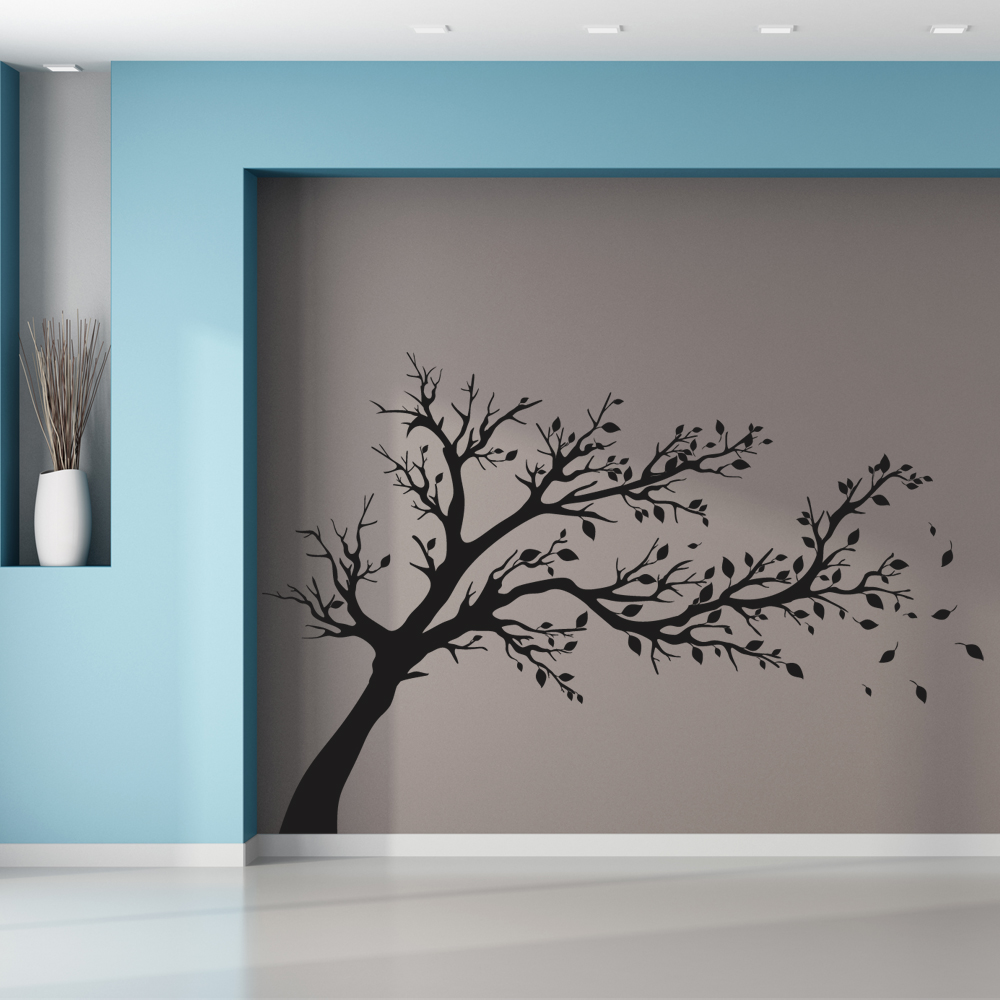 stickers arbre pas cher. Black Bedroom Furniture Sets. Home Design Ideas