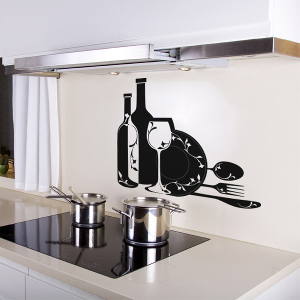 stickers pour meuble de cuisine id es de design d 39 int rieur. Black Bedroom Furniture Sets. Home Design Ideas