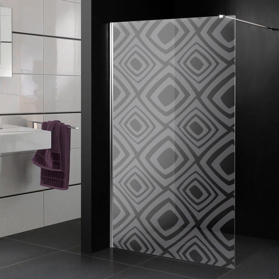 stickers paroi de douche d poli roma pas cher. Black Bedroom Furniture Sets. Home Design Ideas